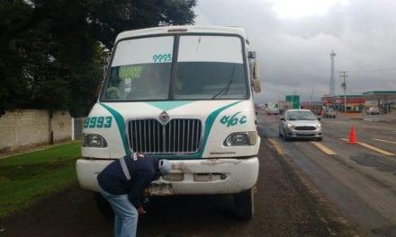 Sancionan a 22 operadores de servicio público en Hidalgo