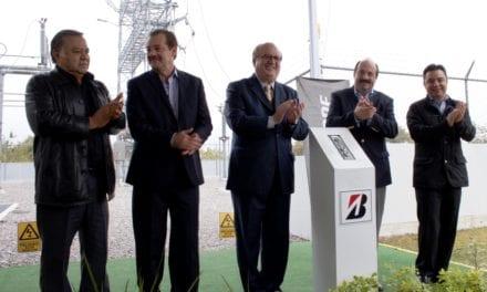 Inaugura Bridgestona una Subestación Eléctrica en su planta de Cuernavaca