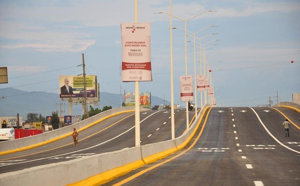 Inauguran nodo vial en Jalisco