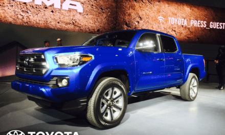 Presentan la Toyota Tacoma 2016