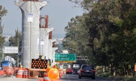 Suspenden obras en la autopista México-Cuernavaca