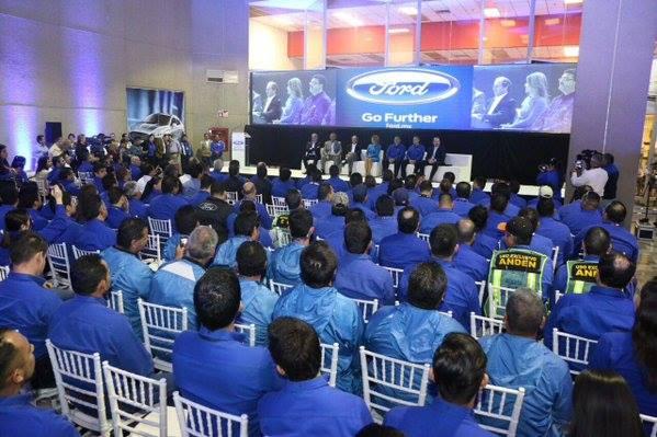 Produce Ford su unidad 5 millones