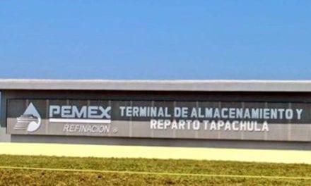 Abre Pemex nueva Terminal de Almacenamiento de Tapachula