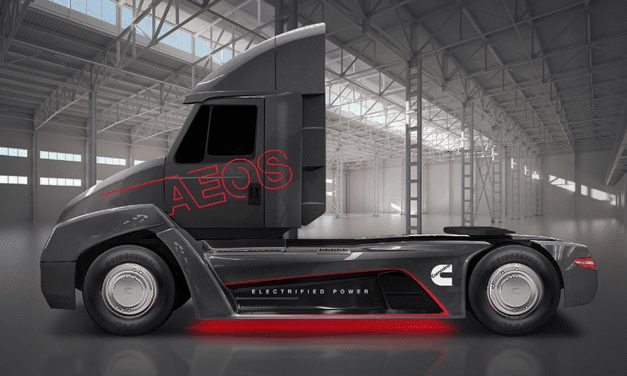Presenta Cummins el camión eléctrico Aeos