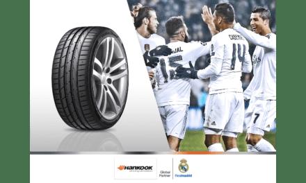 Pacta Hankook patrocinio Premium con el Real Madrid