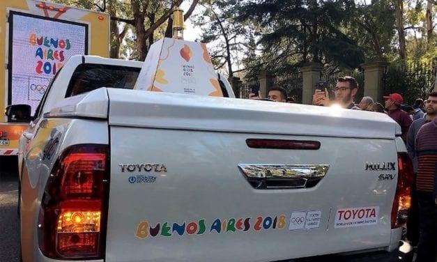 Patrocinará Toyota el Relevo de la Antorcha Olímpica
