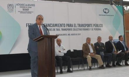 Realizan en Aguascalientes Feria de Financiamiento para Transporte Público