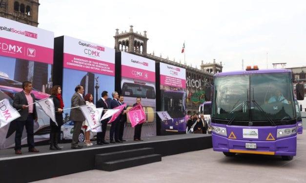 Ponen en marcha autobuses DINA en el corredor Tlalpan-Izazaga