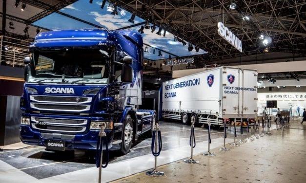 Presencia de Scania en el Salón del Automóvil de Tokio