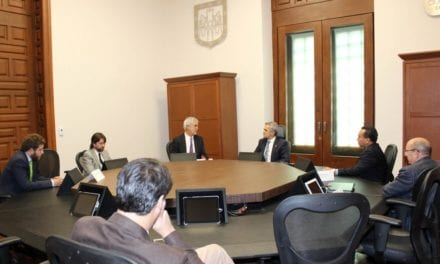 Mancera se reúne con presidente de ITDP