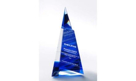 Entregan premio Delphi Pinnacle a Ningbo Schlemmer