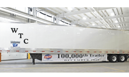 Fabrica Utility caja seca número 100 mil en Glade Spring