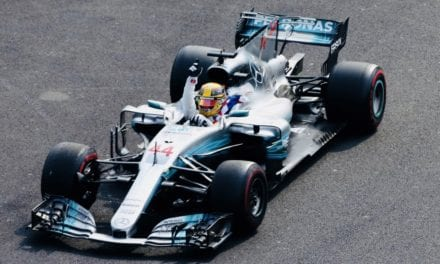Brilla Axalta en la escudería Mercedes-AMG Petronas Motorsport en la F1