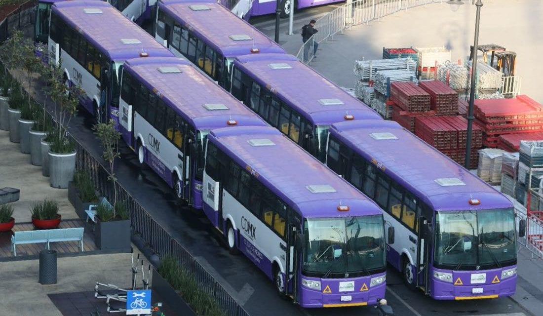 Inicia operaciones corredor Izazaga-Tlalpan con 228 autobuses DINA