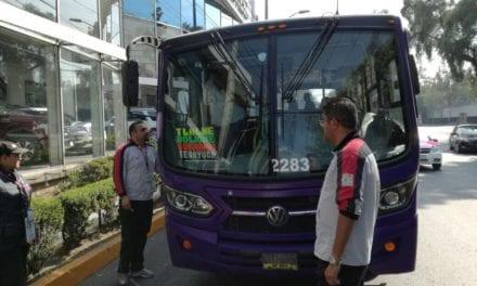 Sanciona Semovi 4 unidades de transporte público