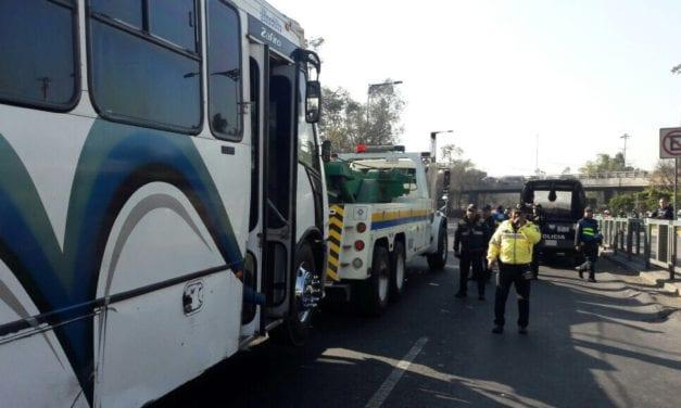 151 unidades de transporte público son sancionadas por Semovi