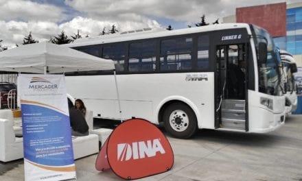 DINA promueve autobuses a gas para el EdoMéx