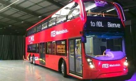 Llegan primeros autobuses Alexander Dennis para L7 del Metrobús