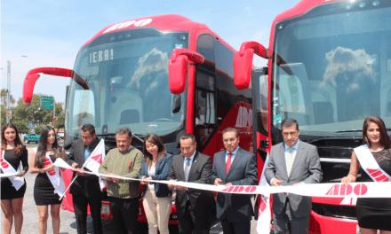 45 autobuses Volvo 9800 modernizan ruta ADO Pachuca