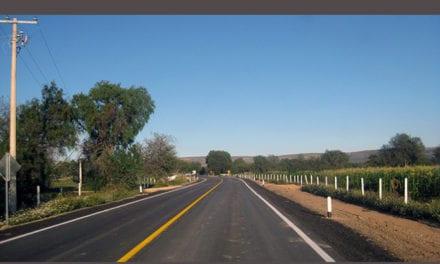 Se moderniza y amplía carretera en Aguascalientes