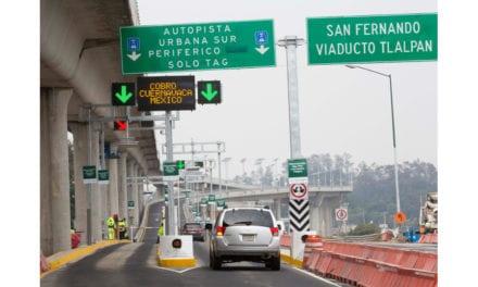 Inauguran la Autopista Urbana Sur