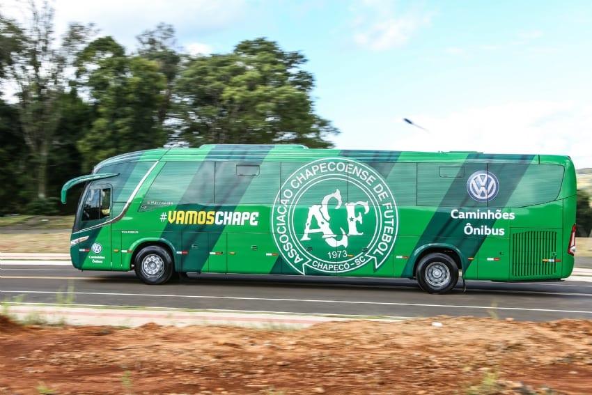 Con el Chapecoense se amplía la Selección Volksbus