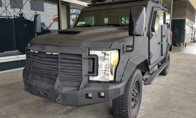 Llevan a Colombia vehículos tácticos producidos en México