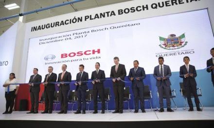Inaugura Bosch planta en Querétaro