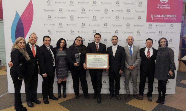 Recibe Bridgestone reconocimiento Educación Continua 2016