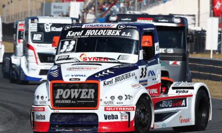 Patrocina Vipal a equipo que compite en la European Truck Racing