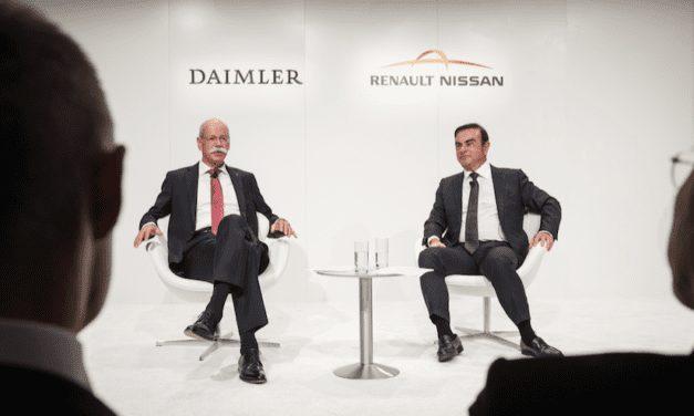 Fortalecen la colaboración Daimler y la Alianza Renault-Nissan