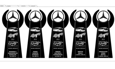 Hendrickson proveedor estrella de  Mercedes-Benz Autobuses