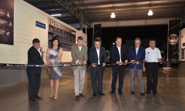 Instalan el segundo Center Bus de Mercedes-Benz Autobuses