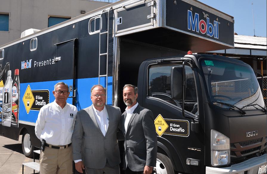 Relanza ExxonMobil su programa de capacitación con Bus Escuela