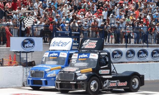 Gana Rubén Pardo la carrera de los Freightliner
