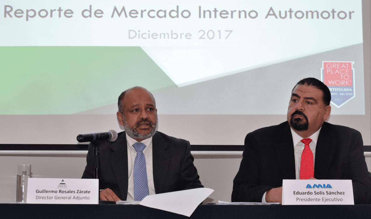 Producirá México más de 4 millones de unidades en 2018: AMIA