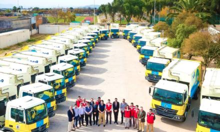 Entrega Mercedes-Benz 115 camiones Atego