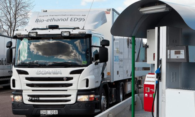 Scania lanza nuevo motor a bioetanol