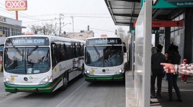 Transporte del Edomex reduce emisiones contaminantes