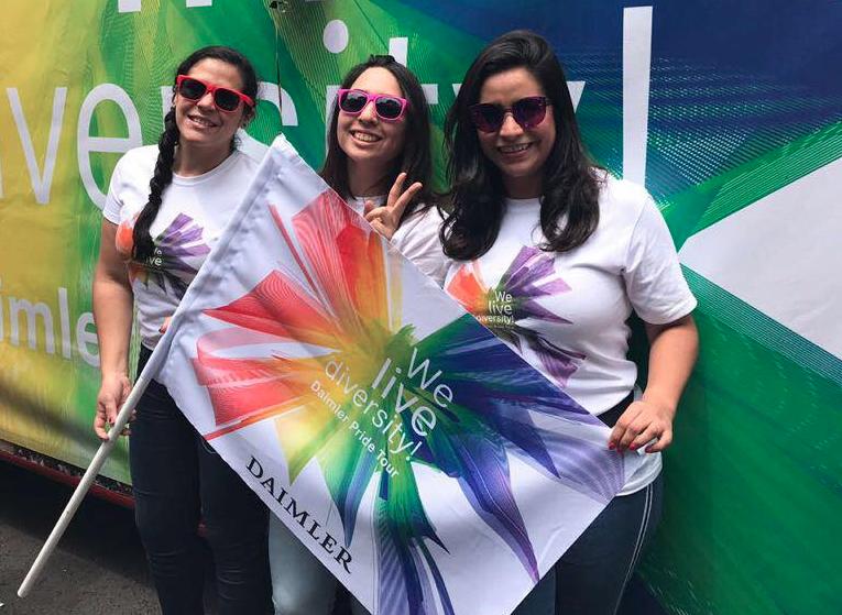 Daimler apoya la diversidad en el Pride Tour
