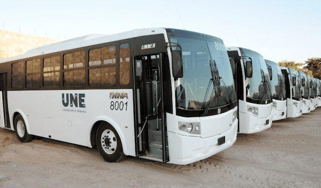 Hermosillo estrena autobuses DINA
