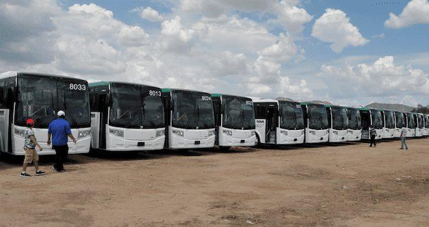 Integran 30 autobuses Linner en Sonora
