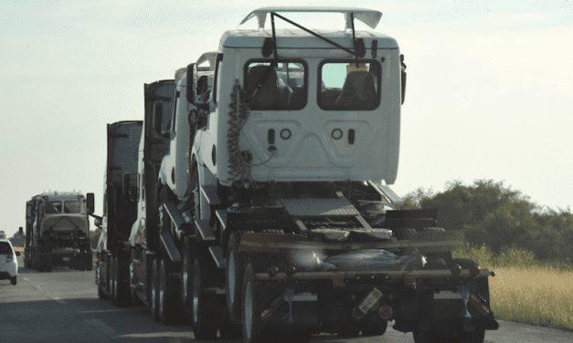 Descienden ventas de camiones en primer semestre del año