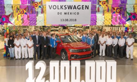 12 millones de vehículos ha producido Volkswagen en México