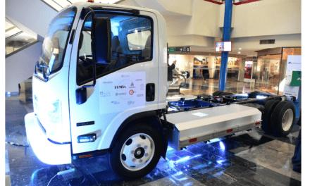 Presentan vehículo eléctrico para carga basado en un Isuzu