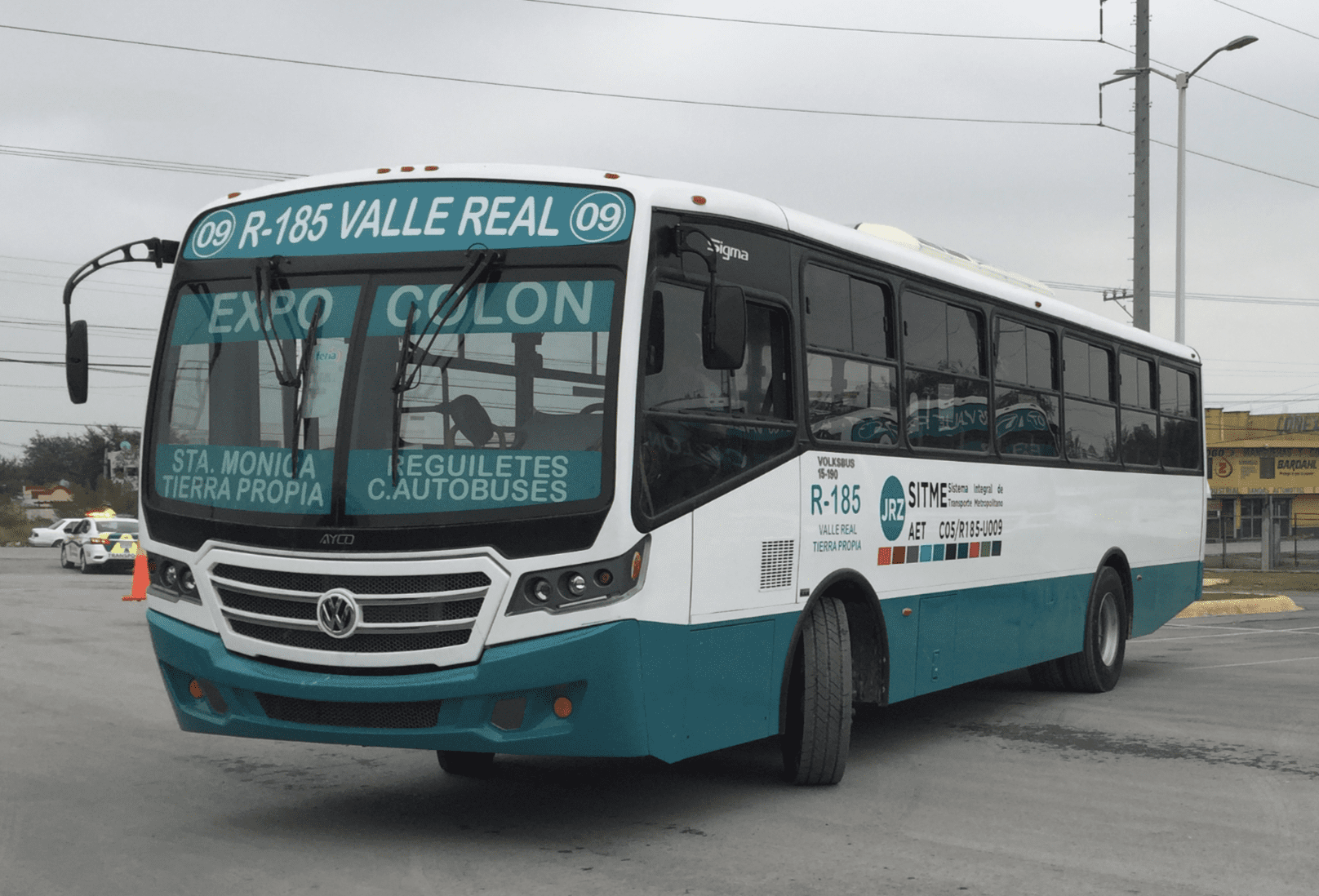 20 unidades Volksbus para rutas de NL