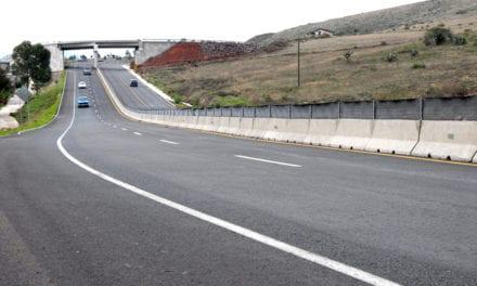 Construcción del paso a desnivel en la Toluca-Palmillas