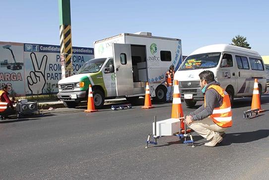 Instalan laboratorio móvil de emisiones vehiculares en Tlaxcala