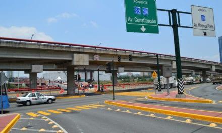 Entregan vialidades en Monterrey