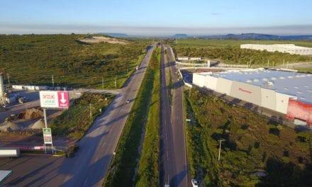 Construyen paso a desnivel en Lagos de Moreno
